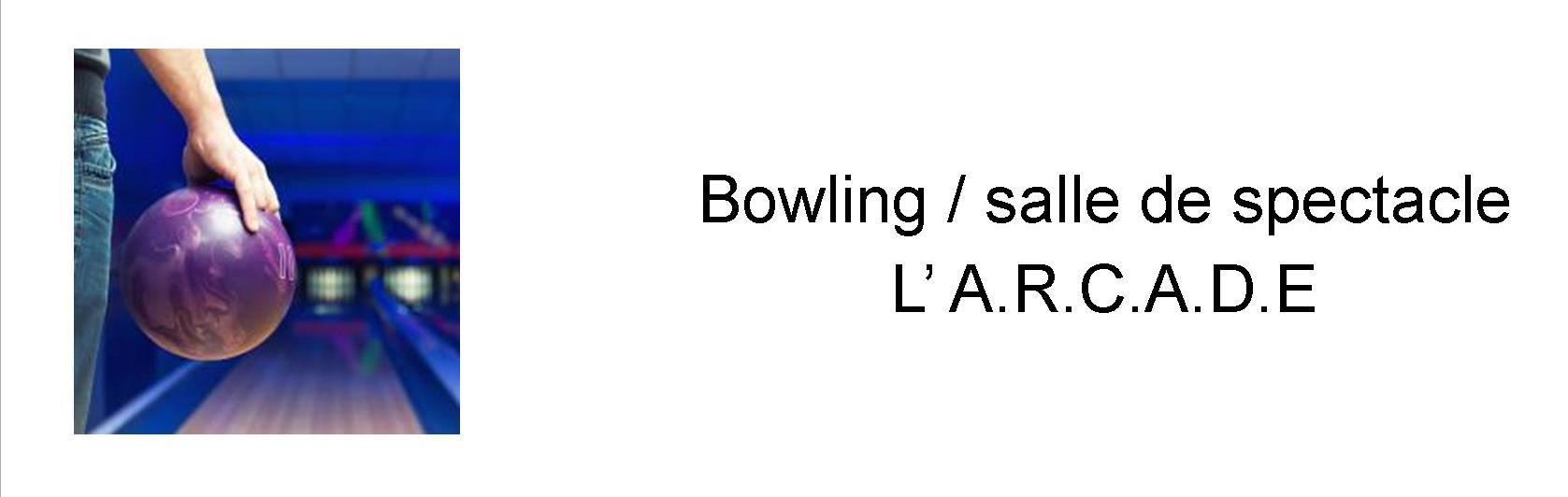 Bowling, ARCADE Notre dame de Gravenchon, Port Jerome sur seine