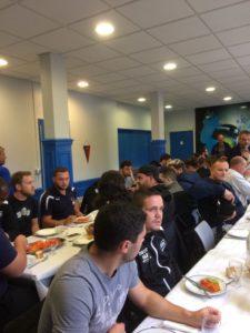 repas Rugby au Foyer des sports Gravenchon