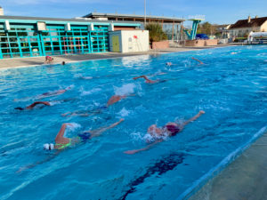 stage sportif natation gravenchon normanadie